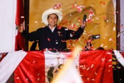 Pedro Castillo, el maestro rural que desde la izquierda desafía a las élites y que (finalmente) fue designado presidente electo de Perú.