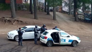 El ataque a disparos se produjo en el barrio Cañadón de Bórquez.