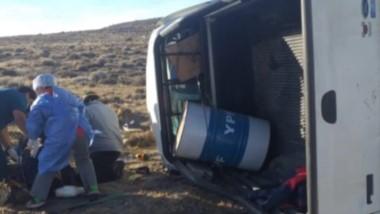 El accidente sucedió ayer a la tarde. Los tres con heridas graves.