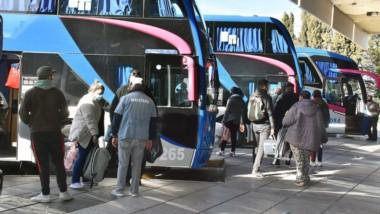 Lugar sensible. Por mes circulan alrededor de 40 mil personas por la Terminal de Ómnibus de la ciudad.