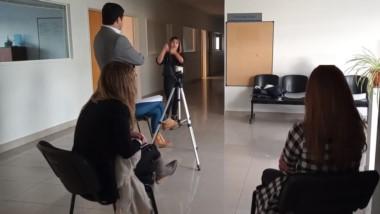 Testimonio. Una intérprete ayudó a saber más sobre la víctima.