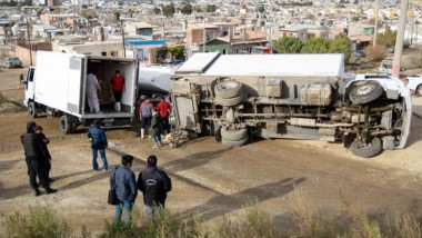 Las unidades generaron un accidente que pudo tener peores saldos.