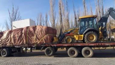 La maquinaria y la mercadería provenía de Chile.  Por orden judicial todo los materiales fueron incautados.