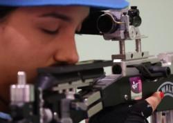 Fernanda Russo no pudo meterse en la final de rifle de aire 10 metros.