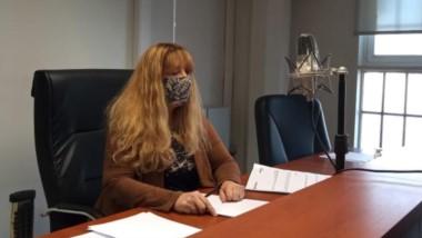 La jueza penal Estella Eizmendi intervino en la audiencia de control de la detención.