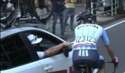 Eduardo Sepúlveda abandonó la competencia; fue uno de los 43 atletas que no logró completar la prueba de ruta de 234 kilómetros.