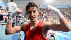 Brian Arregui, campeón olímpico juvenil de Buenos Aires 2018, cayó en un polémico fallo.