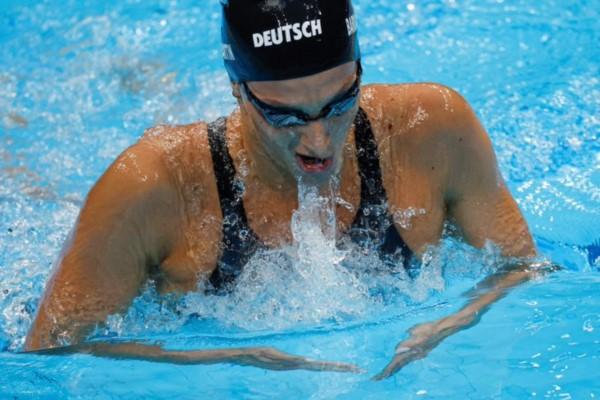 Virginia Bardach compitió en los 400 metros combinados.