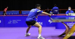 Horacio Cifuentes comenzó con triunfo en el tenis de mesa, en Tokio 2020.