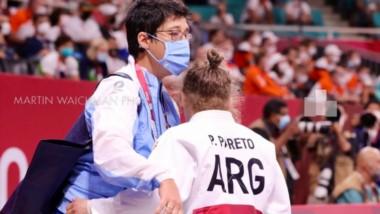 Pareto sufrió una lesión en el codo izquierdo y su continuidad está en duda.
