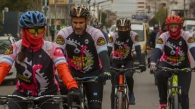El municipio realizo ayer la primera bicicleateada para promover la donación de órganos.