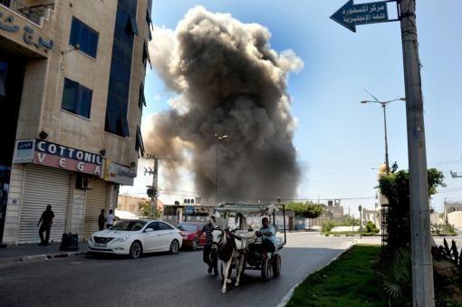 Resurge la tensión entre Israel y Palestina: globos incendiarios en Gaza