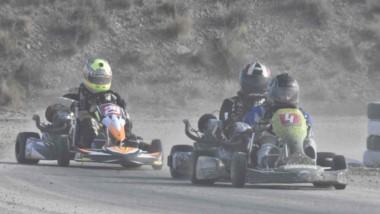 El karting de tierra vibró en el Automoto Club de Puerto Madryn.