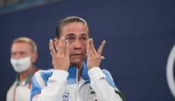 Jueces y gimnastas despidieron en pie a Chusovitina tras ocho Juegos.