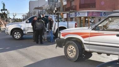 Las personas implicadas en el siniestro vehicular se encontraban en óptimas condiciones físicas.