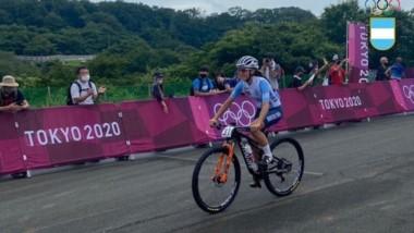 Argentina tuvo su representante en la prueba de ciclismo de montaña tras 17 años.
