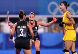 Con dos goles de Agustina Gorzelany y uno de Julieta Jankunas, derrotaron a China.