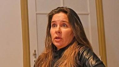 Subsecretaria de Seguridad de Rawson y candidata de Juntos por el Futuro, Laura Mirantes.