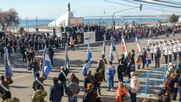 Puerto Madryn celebró su 156° aniversario