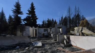 Destrucción y desamparo. Los focos que año a año se agravan no sólo arrasaron con el bosque, sino también con centenares de viviendas.