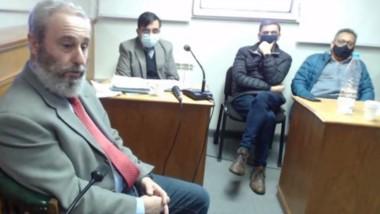 No es su firma. Así lo declaró bajo juramento el expresidente del ISSyS, Carlos Mantegna, en el juicio.