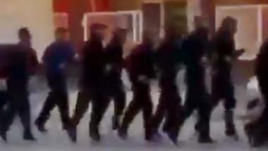 El video de la Policía de Chubut que se viralizó y generó polémica.