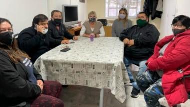 La reunión permitió a la dirigencia gremial interiorizarse del estado del proyecto de jubilaciones anticipadas.