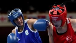 Dayana Sánchez se convirtió en la primera boxeadora argentina en debutar en un Juego Olímpico.