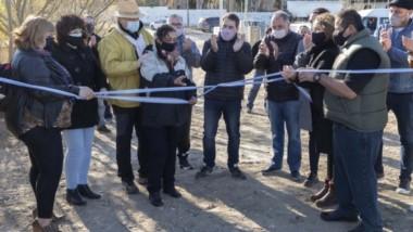 El acto de inauguración contó con la presencia de las principales autoridades políticas de Comodoro.