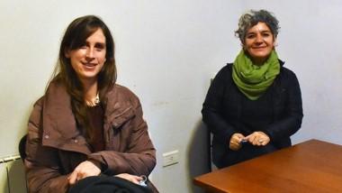 Ceclia Merchán y Josefina Kelly Neila, en la entrevista con Jornada.