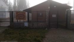 El edificio de la Cooperativa, cerrado.