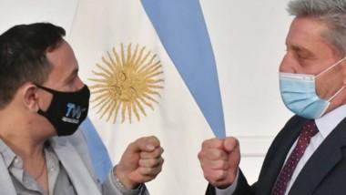 Arcioni y Maderna destacaron que se pueda hacer la inversión en medio de una pandemia.