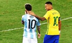 """Neymar, antes de medirse a Messi: """"Es el mejor que vi jugar. Es un gran amigo, solo que ahora estamos en una final y somos rivales"""