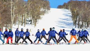 Temporada en marcha. Los esquiadores patagónicos fueron los primeros en llegar.