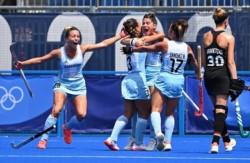 Las chicas argentinas mostraron su mejor versión para golear a un equipo candidato.