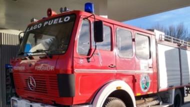 La flamante unidad cero kilómetro 4x4 fue presentada por los Bomberos a través de su cuenta de Facebook.