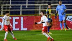 Bragantino se fue al descanso 3-1 arriba sobre el Canalla en el Gigante.