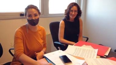 María Eugenia Vottero e Ivana Berazategui. Las fiscales de la causa.