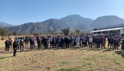 Masiva presencia de dirigentes del fútbol del interior en La Rioja.