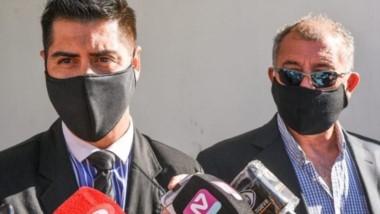El fiscal Jorge Bugueño junto a Daniel Báez.  Pedirá prisión perpetua.