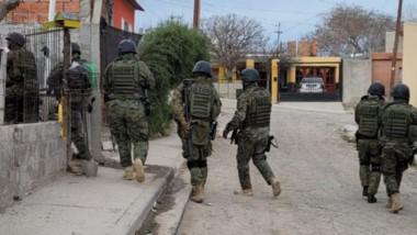 Los allanamientos y registros se hicieron en el barrio Planta de Gas.