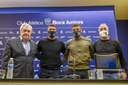 Boca presenta a Sebastián Battaglia como nuevo DT.