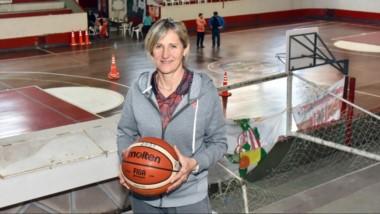 Laura Cors dialogó con Jornada en el gimnasio Juan Fernández, donde brindó durante tres días su campus.