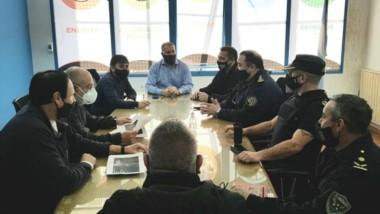 Reunión cumbre entre Cooperativa, Policía y Municipio por vandalismo.