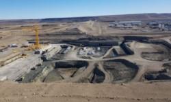 Las obras de las represas hidroeléctricas de Santa Cruz siguen avanzando