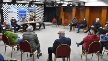 En la reunión hubo duras críticas contra carteras de gobierno ineficientes ante la violencia delictual.