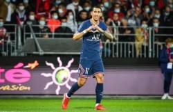 El Fideo Di María registra 88 goles y 104 asistencias en 265 partidos disputados con el PSG.