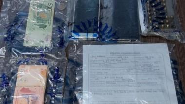 Telefonía celular, tickets, municiones y documentaciòn incautadas.