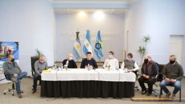 Inquietud. Los jefes comunales del sur de la provincia y norte de Santa Cruz mostraron su preocupación.