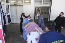 Arias arribó este viernes a la capital de Corrientes en un avión sanitario para ser atendido en el hospital Escuela ''General San Martín'', de mayor complejidad.